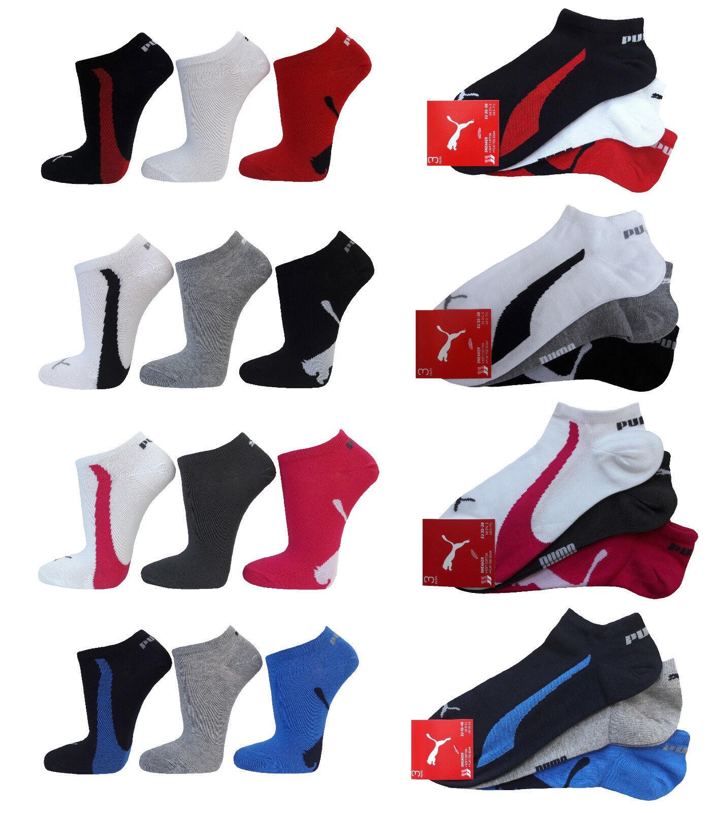 PUMA Lifestyle Sneakersocken Füßlinge - Baumwoll Sneaker Socken Herren & Damen