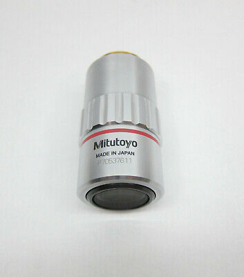 Mitutoyo Objective Lens M Plan Apo 5x 0.14 0 F200 Snp70537611