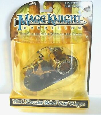 Mage Knight Black Powder War Wagon Limited Edition Rebel By WizKids Collectible