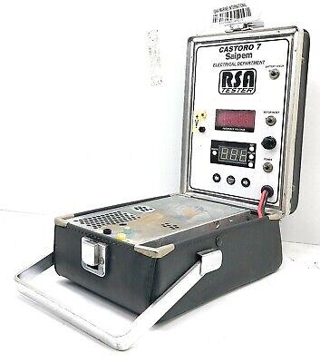 Rsa Tester Castoro 7 Saipem Electronic Digital Refrigeration System Analyzer Imi