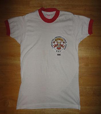 Vintage 1980 BOY SCOUTS OF AMERICA B.S.A. Lancaster Lebanon Council Camps Shirt image