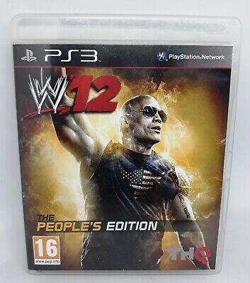 Game PS3: W12 People's Edition - PLAYSTATION 3 / VF complete with DVD Greatest, usado comprar usado  Enviando para Brazil