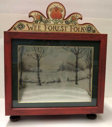 Wee Forest Folk Custom Display Boxes - DB-R