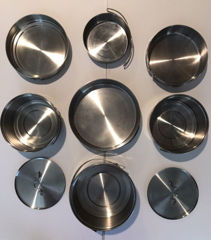 Stainless Steel 9pc Cookware Set - Coleman Peak 1