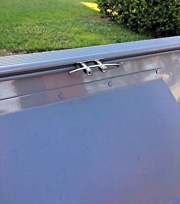 """Tracker Boats Guide V-14 Versatrack Stainless Cleat 4"""" Custom Accessories USA"""