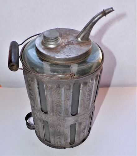 Very Rare 1881 Adams and Westlake Lantern Filler, Kerosene