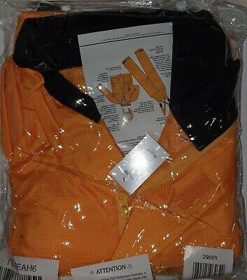 HELLY HANSEN 70529/_290-L Rain Bibs,PVC//Polyester,Orange,L