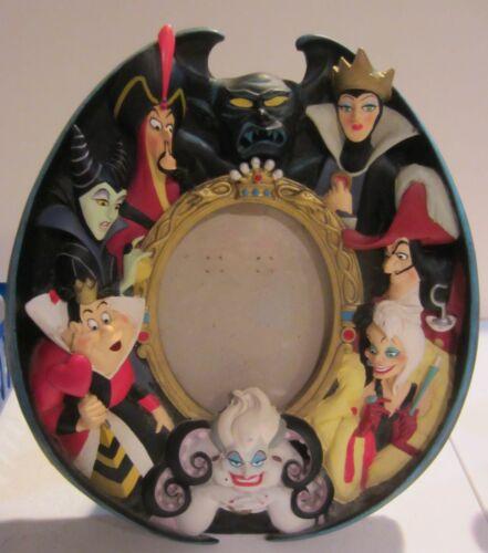Disney Villains Photo Picture Frame Maleficent Queen Ursula Jafar Cruella 3D