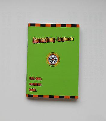Geocaching Logbuch DIN A7, 80 Seiten,
