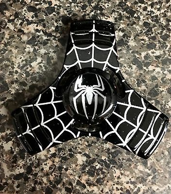 MARVEL Black Spider-Man Venom 🕷 EDC 3-sided Fidget Spinner 🇺🇸US FAST SHIP✈️