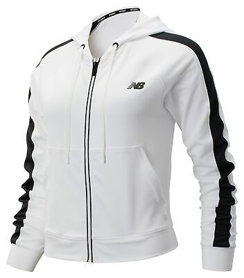 New Balance Women's Transform Jacket White with Black
