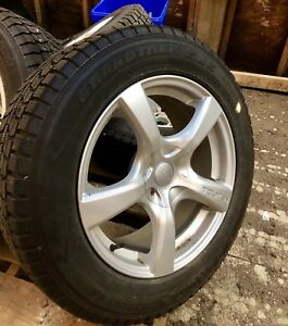 Winter Tires on Rims 245/60R18