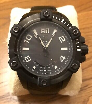 """Invicta Reserve Model 1729 """"Octane"""" Mens Watch NEEDS BATTERY FAIR CONDITION"""