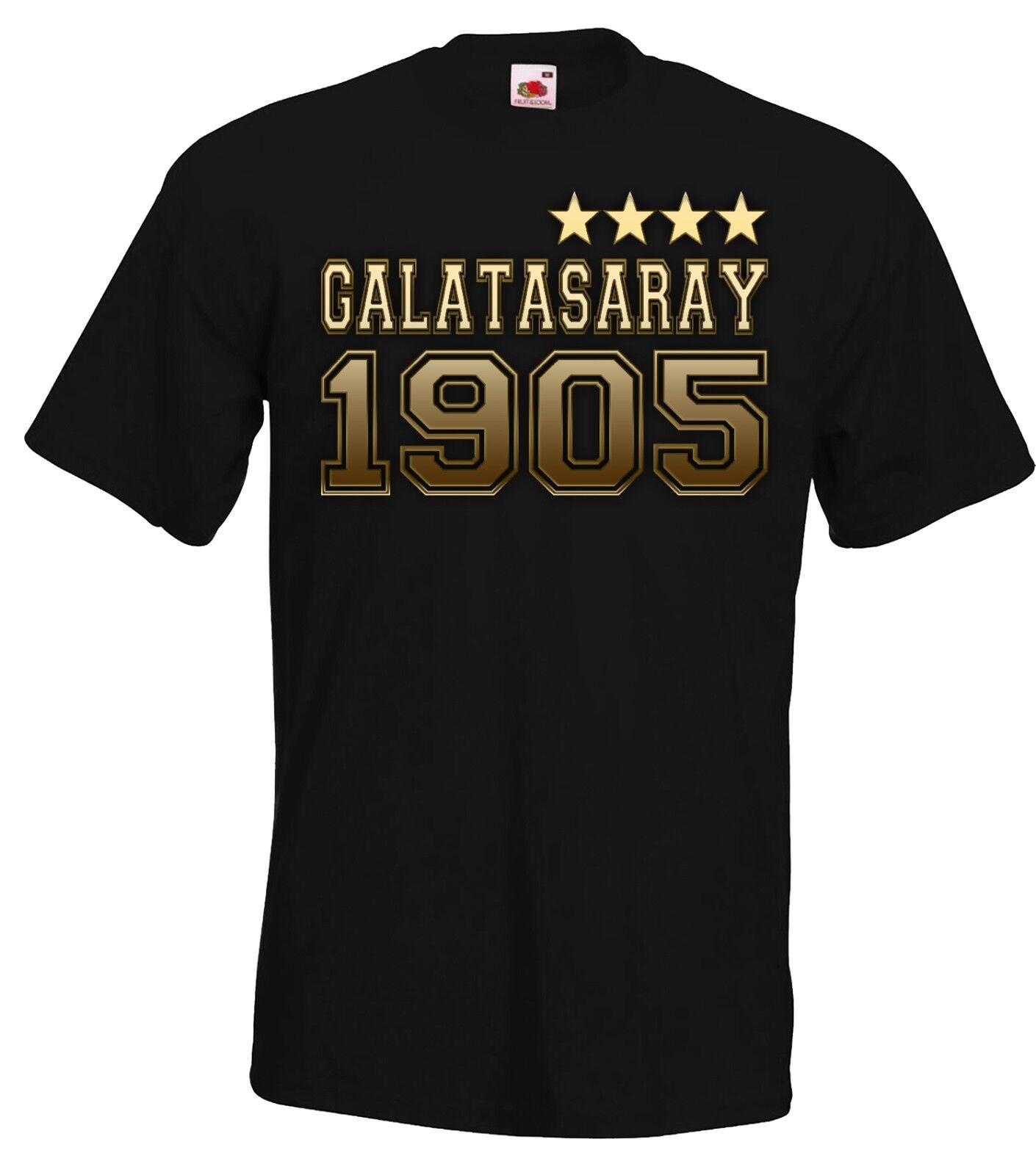 Herren GALATASARAY Istanbul T-Shirt Fanshirt, verschiedene Modelle Gr. S-5XL