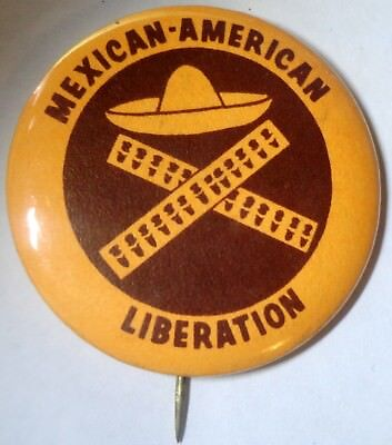 Mexican - American Liberation Pin w/ Sombrero & Ammo Belt
