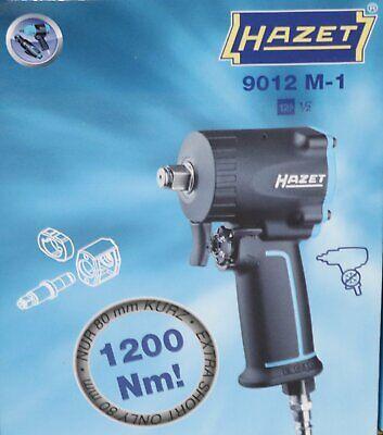 """1100 Nm HAZET 9012M Druckluft Schlagschrauber 1//2/"""" Einhand Umschaltung max"""