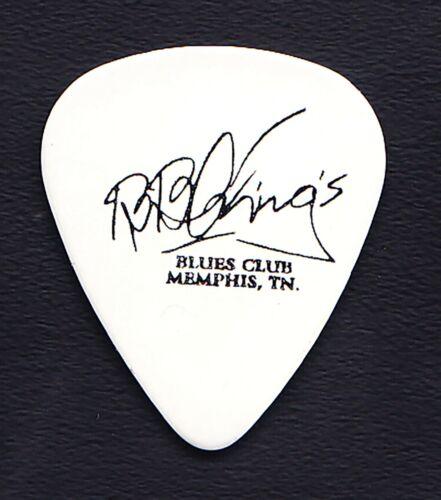 B.B. King Signature Memphis Blues Club White Guitar Pick