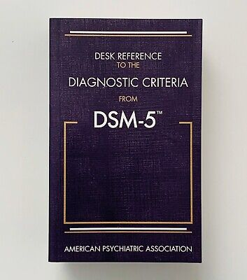 Desk Reference to the Diagnostic Criteria From DSM-5 Mental Disorders Paperback