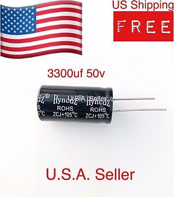 In-line Aluminum Electrolytic Capacitor 3300uf 50v