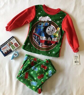 Boys Thomas The Train Christmas Jammies 2 Piece Size 2T Pj's](Boys Christmas Jammies)