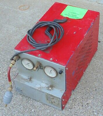 Refrigerant Recovery Machine National Refrigerants Lvi R-22 R-502 Ac Hvac