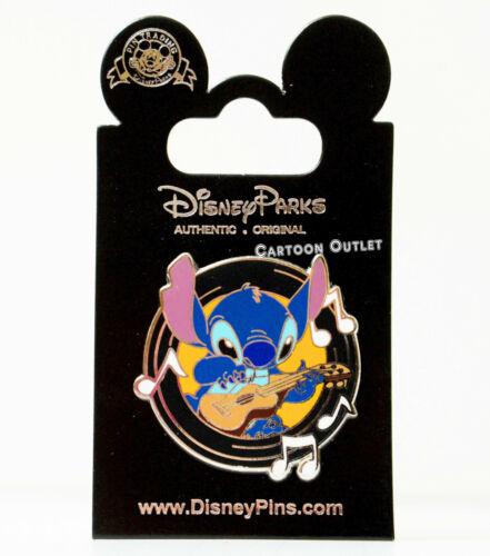 Disney Lilo & Stitch Pin Stitch Playing Guitar Trade Authentic Original New