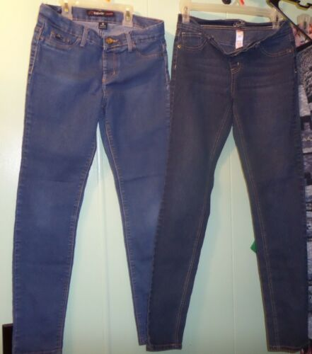 Lot of 2 Girls size 16 Justice Jeggings and Jordache Jeggings