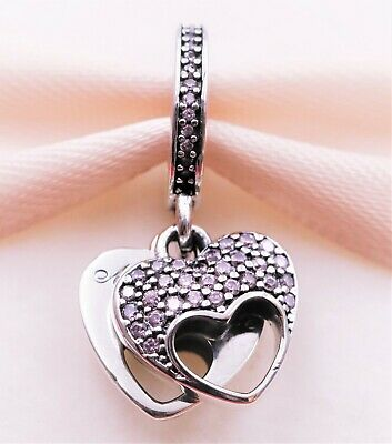 New Authentic Pandora Mother's Love Dangle Silver Charm (S925 ALE) 792107
