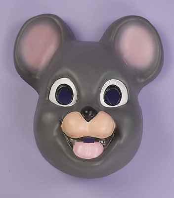 Mouse Mask Animal Face Adults Child Gray Mice Grey Halloween Costume Plastic NEW](Grey Mouse Halloween Costume)