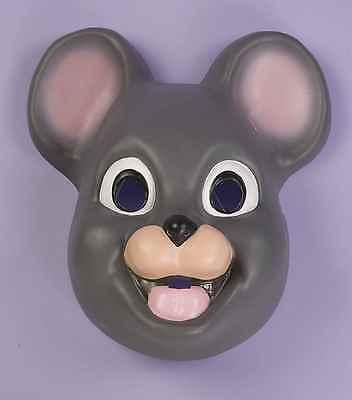Mouse Mask Animal Face Adults Child Gray Mice Grey Halloween Costume Plastic NEW - Animal Mask Halloween