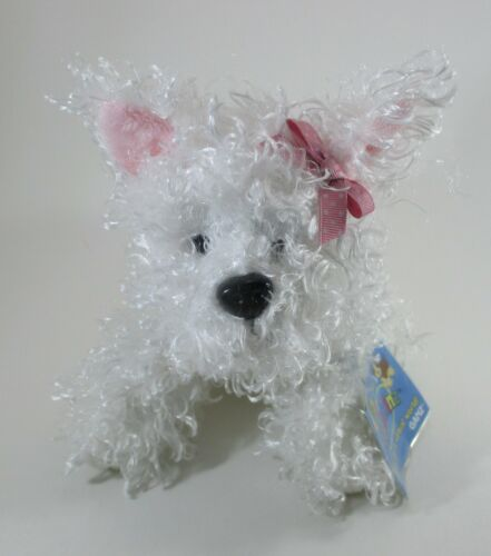 WB2 White Terrier dog WEBKINZ PLUSH new with code ganz stuffed animal