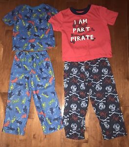 4 sets of boy's pjs- size 3, gap and Gymboree