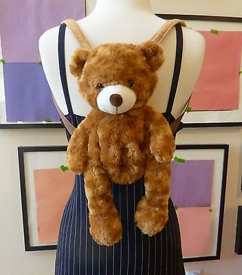 Cute and Super Chic Teddy Bear Backpack for ALL Ages ~ NEW : )
