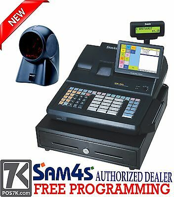 Sam4s Sps-520 Rt Hybrid Pos Cash Register W Free Orbit Scanner Sps520