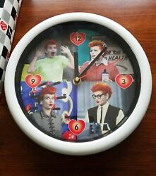 I Love Lucy clock 10 diameter in original box