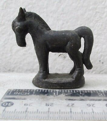 SUPER RARE! 19th Century Bronze Horse Opium Weight 80 grams