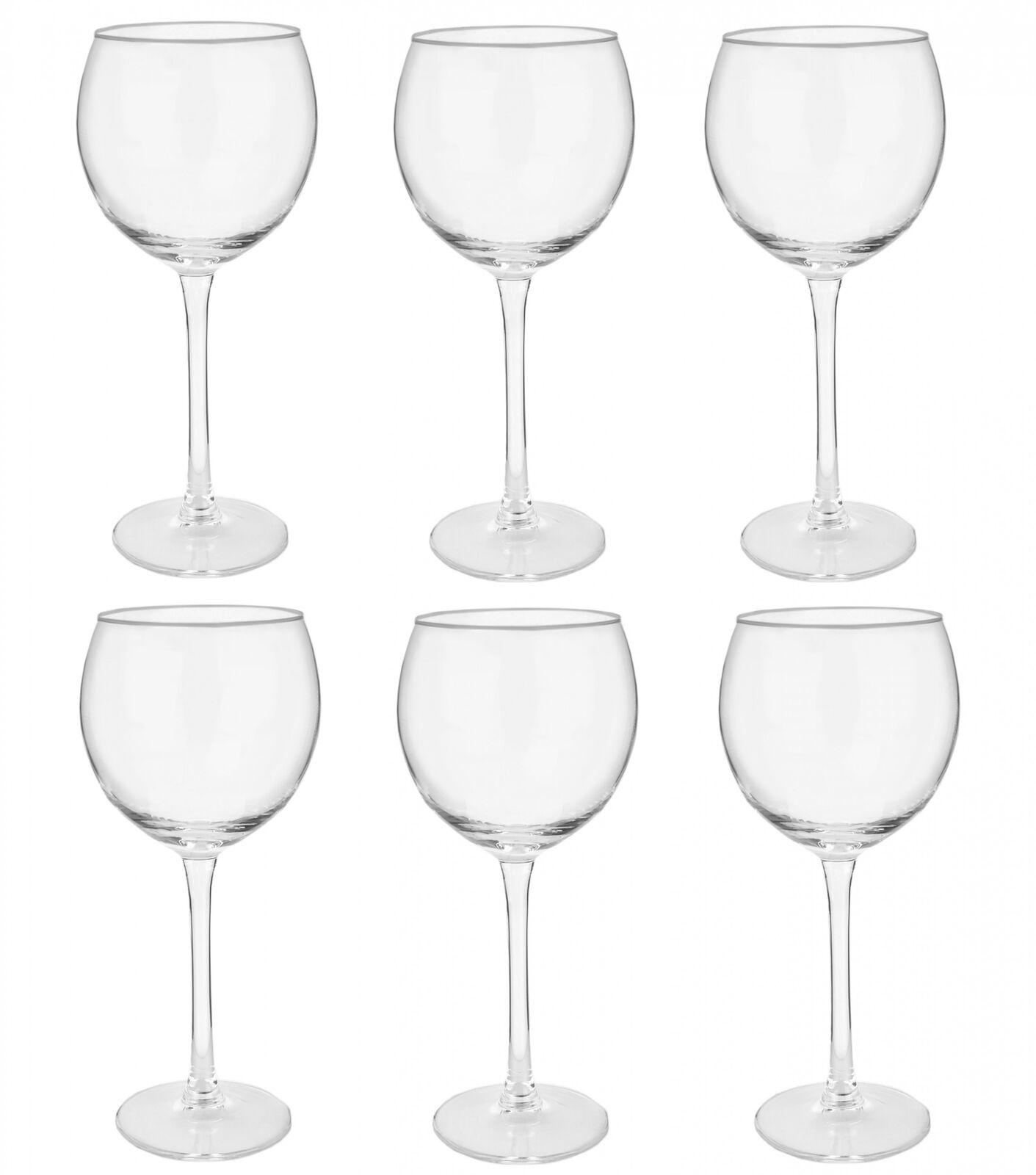 6er Set Weingläser 35cl 350ml Rotweinglas Weinkelch Wein Glas Rotwein