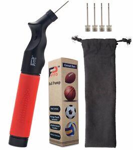 Pifito Ball Pump - Dual Action Air Pump for Soccer Ball, Football & Basketball