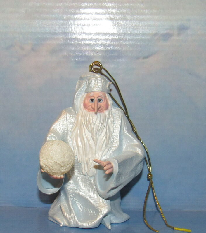 Santa Claus is Coming to Town by Rankin and Bass Winter Warlock  Ornament