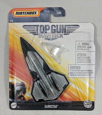 2020 Matchbox  Top Gun Maverick #1 Darkstar Jet Airplane