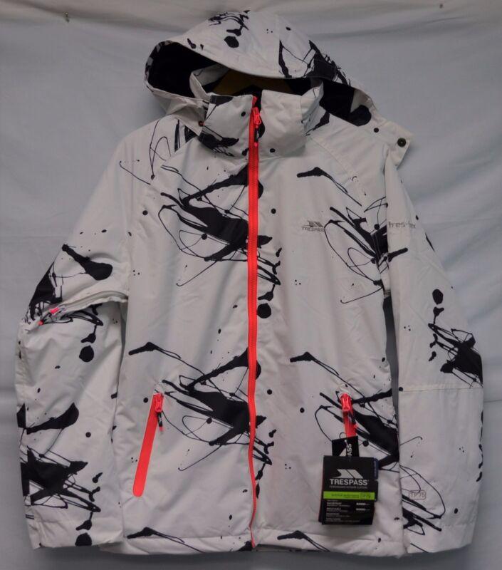 9c123643420e Trespass Women s Asia White Print Waterproof Ski Snowboard Jacket S M L XL  фото