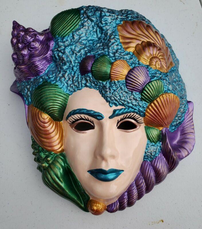 Ceramic Mardi Gras Mask