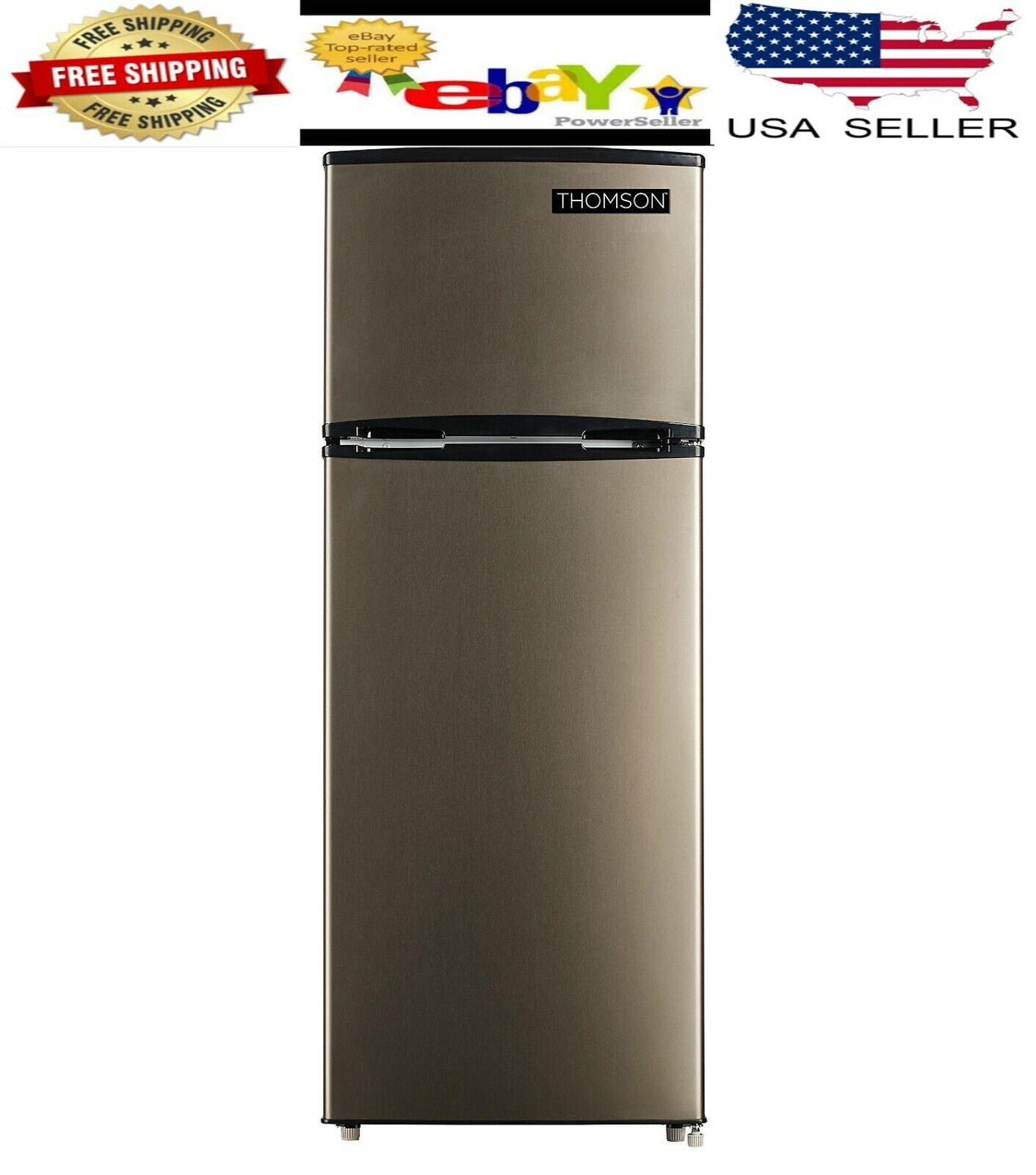 Thomson 7.5 cu ft Top Freezer Refrigerator Temperature Controlled Space Saving