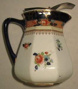 Vintage-Late-19th-early-20th-century-attractive-Losel-Jug-of-good-form