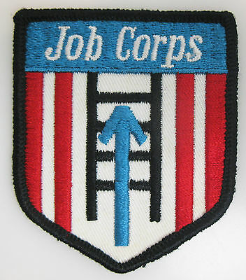 Vintage Job Corps Service Patch 2 1/2 x 3 Inches (Patch Job)