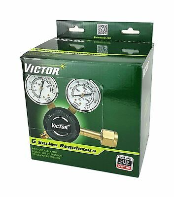 Victor Heavy Duty Oxygen And Acetylene Regulators Set - Model G350