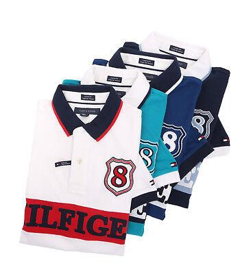 Tommy Hilfiger Men Short Sleeve Custom Fit Logo Pique Polo Shirt - $0 Free (Short Sleeve Pique Polo Shirt)