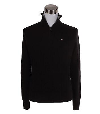 Tommy Hilfiger Men's Classic Fit Half Zip Mock Turtle Neck Sweater -$0 Free Ship ()