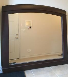 MADE IN CANADA! Large Wood Mirror