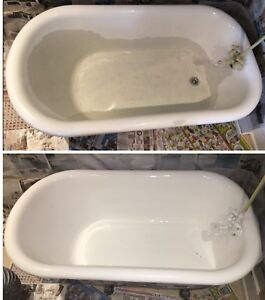 Cast Iron Bathtub Sinks Refinishing Ceramic Surround Tiles